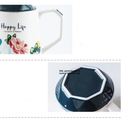 Bộ Ấm Chén Happy Life 8 Món