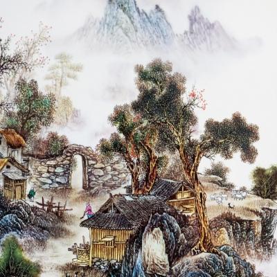 Tranh Sứ Xóm Núi